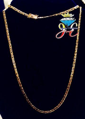 Cadena de oro legitimo 18k mónaco cc46 hombre jespaña
