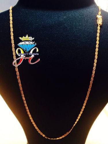 Cadena de oro legitimo 18k mujer cd_16 italiano jespaña