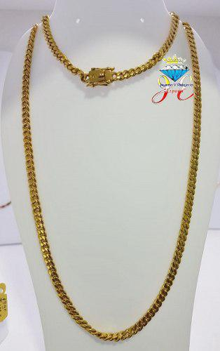 Cadena oro amarillo 18k lomo corvina cc_114 hombre jespaña