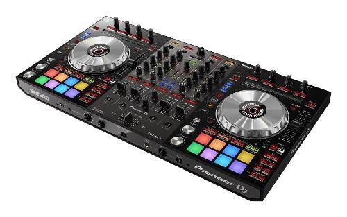 Controlador dj pioneer dj ddj-sx3 - negro