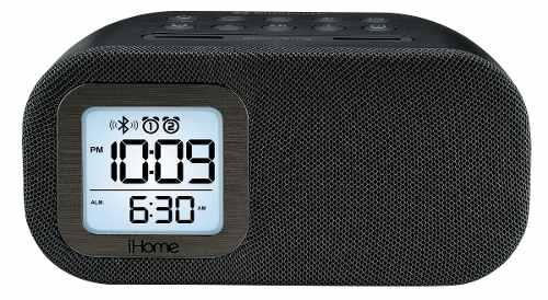 Ihome ibt210b radio despertador fm bluetooth con altavoz