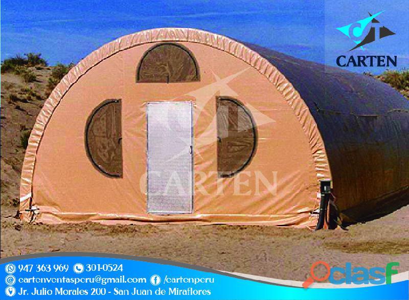 Campamentos igluu modelo sierra carten perú