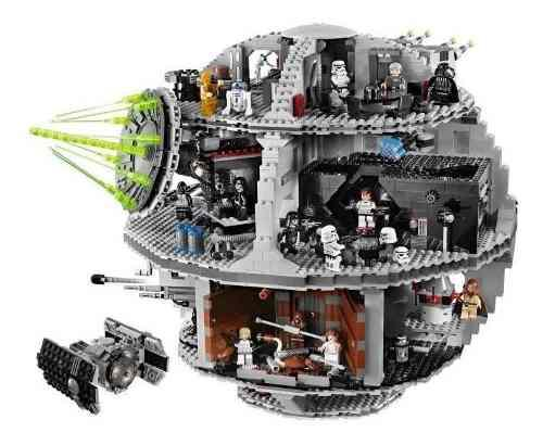STAR WARS ESTRELLA DE LA MUERTE LELE 3,803 PIEZAS TIPO LEGO segunda mano  Peru (Todas las ciudades)