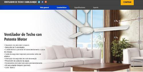 Ventilador de techo RGB LED control remoto espacio radiador ventiladores lámpara Living-XXL