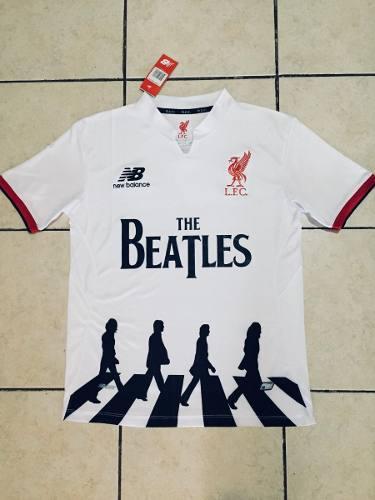 Camiseta liverpool fc edicion especial the beatles