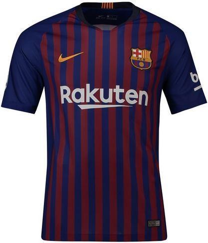 Camiseta nike fc barcelona stadium 2018/19 - 100% originales