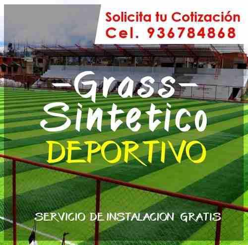 Grass sintetico deportivo precio m2