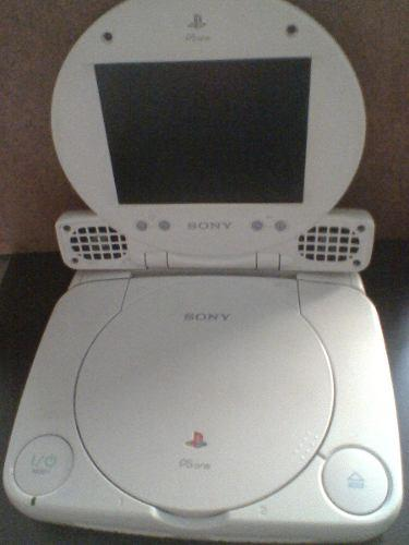 Ps one con pantalla lcd original + 2 mandos