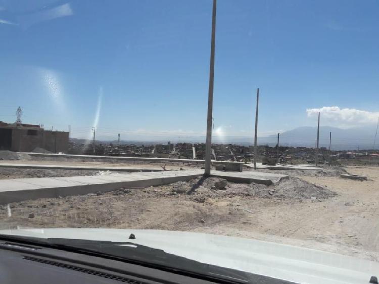 Umapalca,venta de terreno 600 m2 con vista a la campiña de