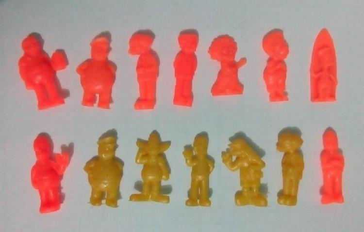 Lote simpson miniaturas