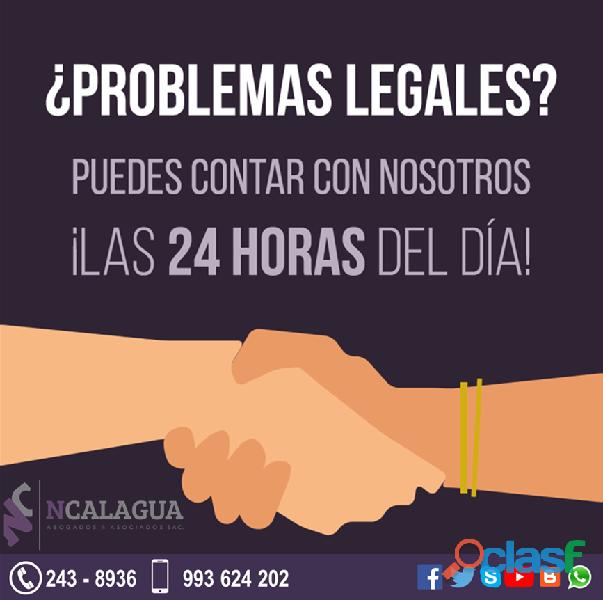 Abogados penalistas miraflores – 24 horas