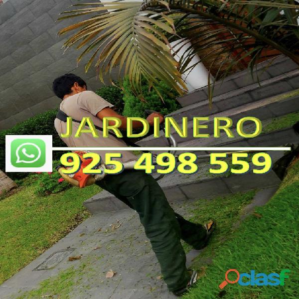 Jardinero provinciano experto en instalaciones de grass y corte en general