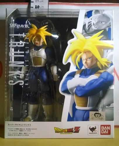 Anime Figura Dragon Ball Sh Figuarts Trunks Bandai Tamashi