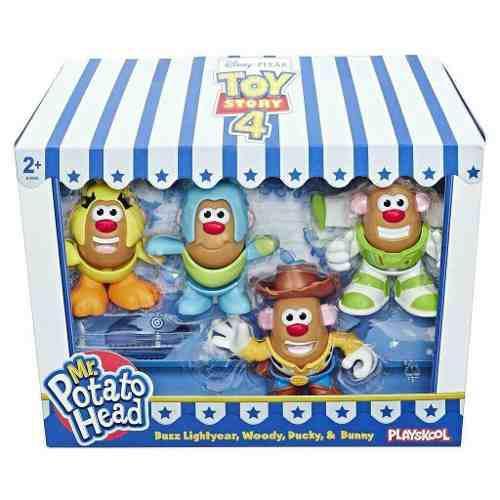 Disney pixar toy story 4 mr potato head mini x4 figuras