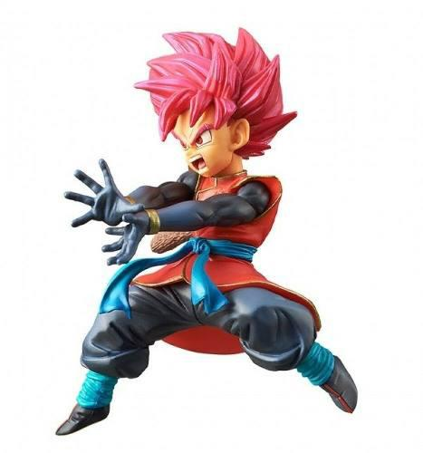 Figura saiyajin heroes - dragon ball heroes dxf