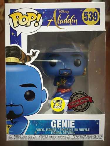 Funko pop! disney aladdin - genie gitd nro 539