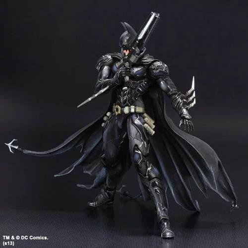 J batman arkham knight figura de colección 27cm (a pedido)