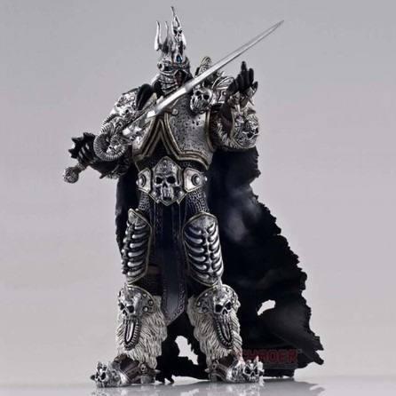 Rey arthas estatua figura de colección 16cm (a pedido)