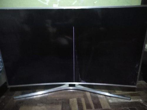 Samsung con control de voz tv 49 - pantalla rota un49ku6500