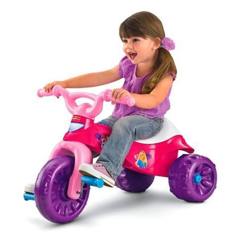 Triciclo barbie fisher price para niña