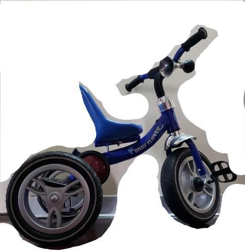 Triciclo para niño color azul - baby flipper