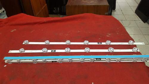 Venta de tiras led set nuevo original lg / samsumg