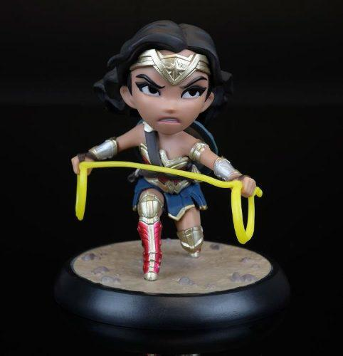 Wonder woman, mini estatua dc comics regalo, q-fig, dcuto