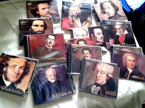 Combo grandes compositores de la música clásica 14 vol.