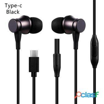 Audífonos mi basic xiaomi tipo  c 100% ¡originales!   negro   blanco somos nabys shop perù