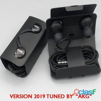 Audífonos tuned by akg samsung s10/s10 plus/s10e originales   blanco y negro oferta somos nabys shop