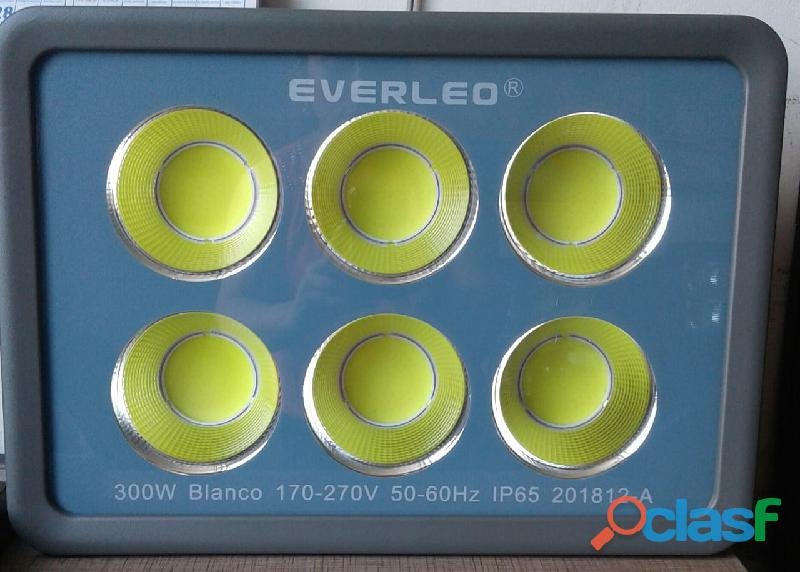 Reflectores led 300 y 400 watts