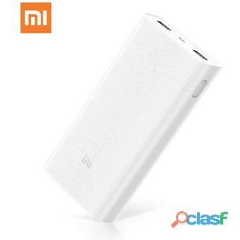 Xiaomi cargador portátil mi power bank 20,000 2c mah sellado original