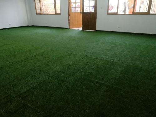 Grass sintético decorativo para terrazas, colegios,oficinas