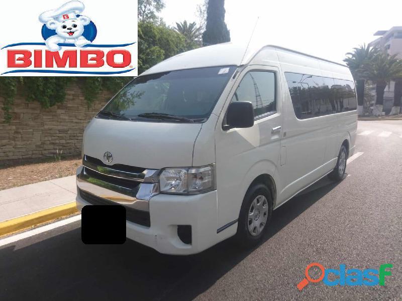 Toyota hiace 2015 blanco