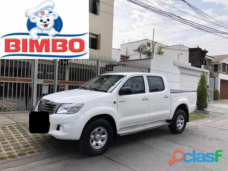 Toyota hilux sr 2014 4x2 blanco