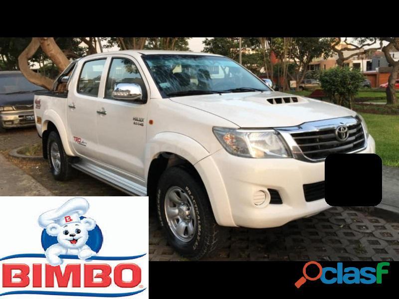 Toyota hilux sr 2014 blanco