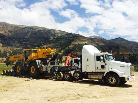 Transporte de equipos pesados maquinarias 995034160 en lima