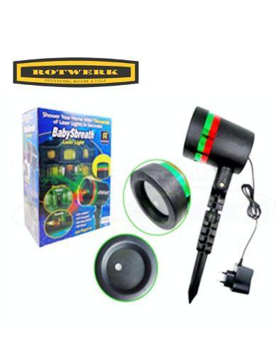 Luces láser para navidad/ rotwerk/sf-1602