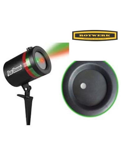 Luces láser para navidad/ rotwerk/sf-1602c