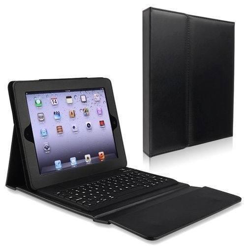 Funda portafolio c/ teclado bluetooth 3.0 ipad 4