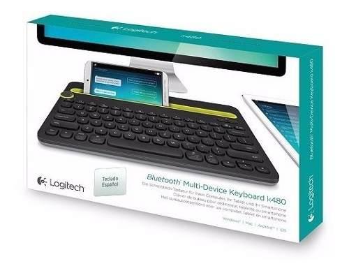 P teclado bluetooth logitech k480 español multidispositivo