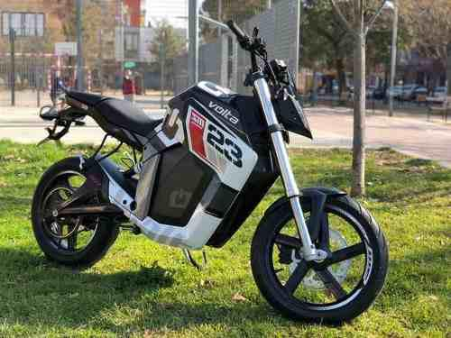 Bicimoto moto scooter electrica volta doble amortiguacion