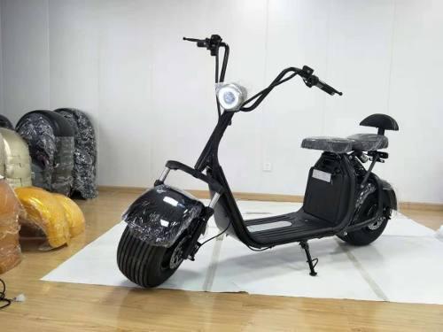 Moto scooter electrica modelo chopper
