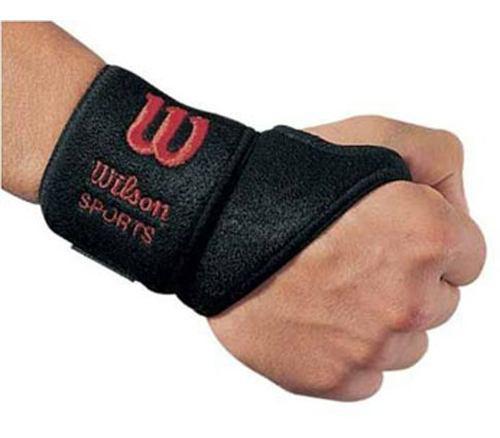Muñequera Unisex Wilson - Soporte Para Muñeca Con Velcro