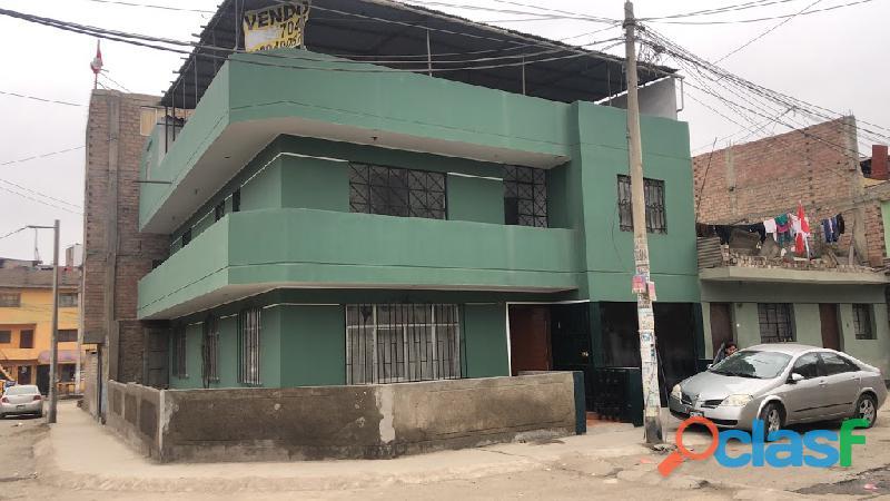 Linda casa 3 pisos ingreso a san juan de miraflores