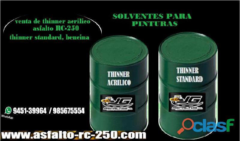 Solventes para pintura , barrera de vapor de de alta calidad