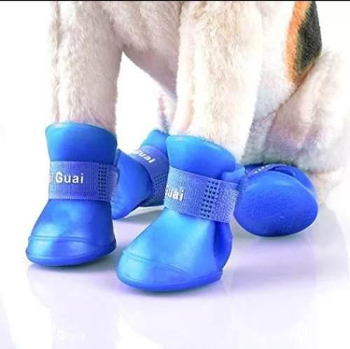 Bota de lluvia zapatos zapatillas para perros gatos
