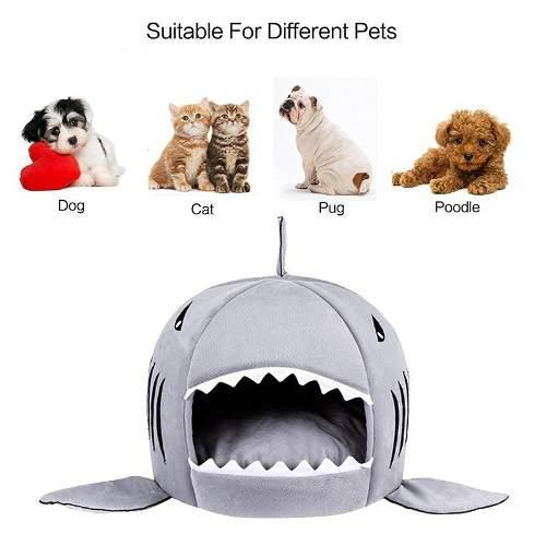 Casa cama para perros pequeños y gatos
