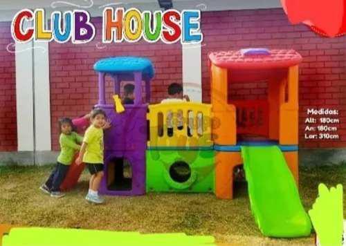 Casa club house juegos niños para colegios nidos