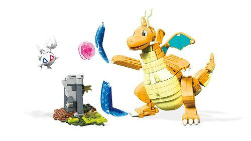 Mega construx pokemon dragonite vs. togetic challenge 488pcs